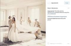 LEILA HAFZI sul canale Instagram di Vogue Sposa